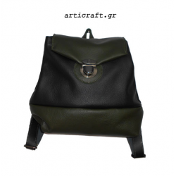 Δερμάτινη τσάντα backpack (Α380)