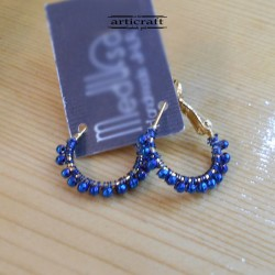 Handmade Earings Blue (E284)