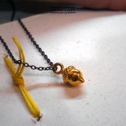 Handmade Gold Necklace (E292)