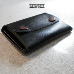 Card holder black (Α1010)