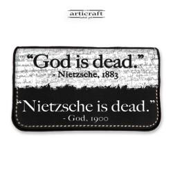 """Tobacco pouch """"Nietzsche vs..."""
