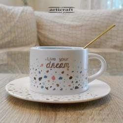 """Ceramic Mug 220ml """"Live..."""