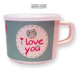 """Bamboo Kid Mug """"Owl"""" (G239)"""