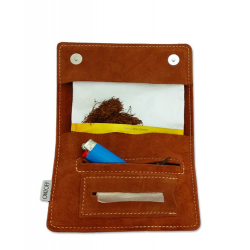 "Tobacco pouch Papyrus Load ""Brown butterflies"" (Α414)"