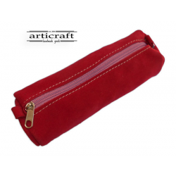 Leather pencil case (A418)