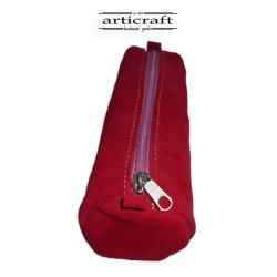 Leather pencil case (A418)