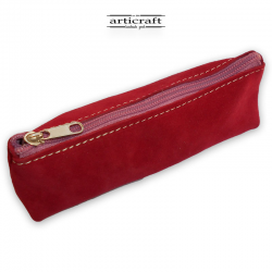 Leather pencil case (A420)