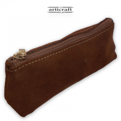 Leather pencil case (A421)