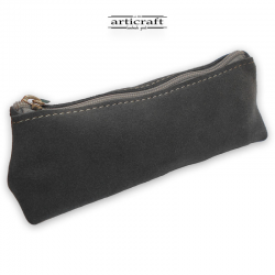 Leather pencil case (A422)