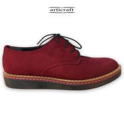 Δετό δερμάτινο παπούτσι τύπου Oxford (Α428)