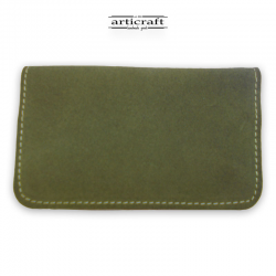 Leather tobacco pouch medium size oil (Α437)