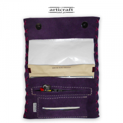 Leather tobacco pouch classic size (Α446)