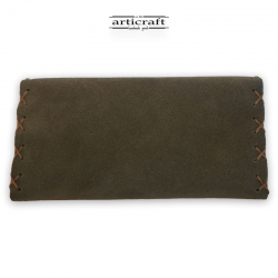 Leather tobacco pouch classic size (Α448)