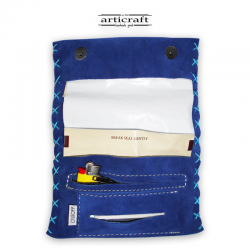 Leather tobacco pouch classic size (Α450)