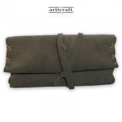Leather tobacco pouch classic size (Α454)