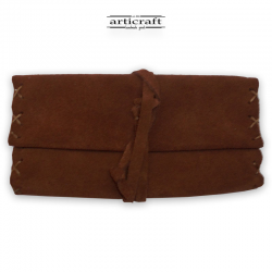 Leather tobacco pouch classic size (Α461)