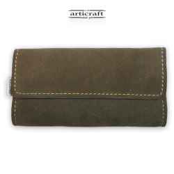Leather tobacco pouch classic size (Α463)