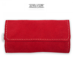 Leather tobacco pouch classic size (Α466)