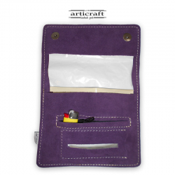 Leather tobacco pouch classic size (Α467)