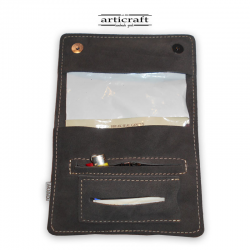 Leather tobacco pouch classic size (Α470)