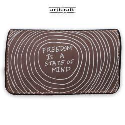 """Καπνοθήκη """"Freedom is a state of mind"""" (Α473)"""
