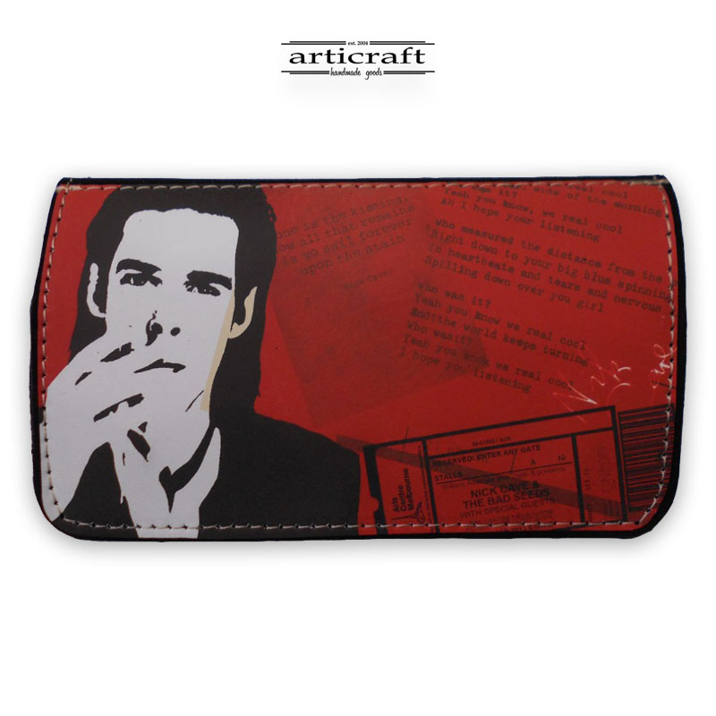 """Tobacco pouch """"Roses"""" (Α395)"""