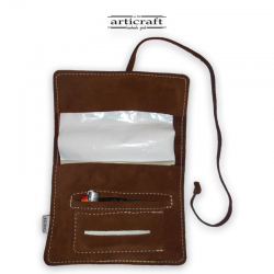 Leather tobacco pouch classic size (Α488)