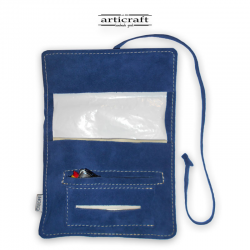 Leather tobacco pouch classic size (Α489)