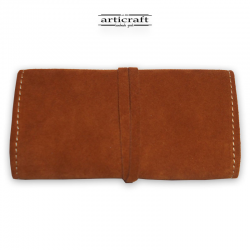 Leather tobacco pouch classic size (Α490)