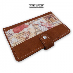 "Leather wallet ""London"" (Α345)"