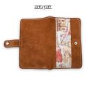 """Γυναικείο πορτοφόλι καστόρι ταμπά """"Paris"""" (Α507)"""