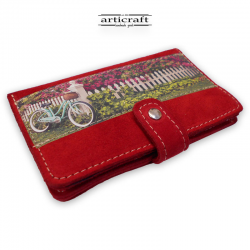"""Leather wallet """"London"""" (Α345)"""