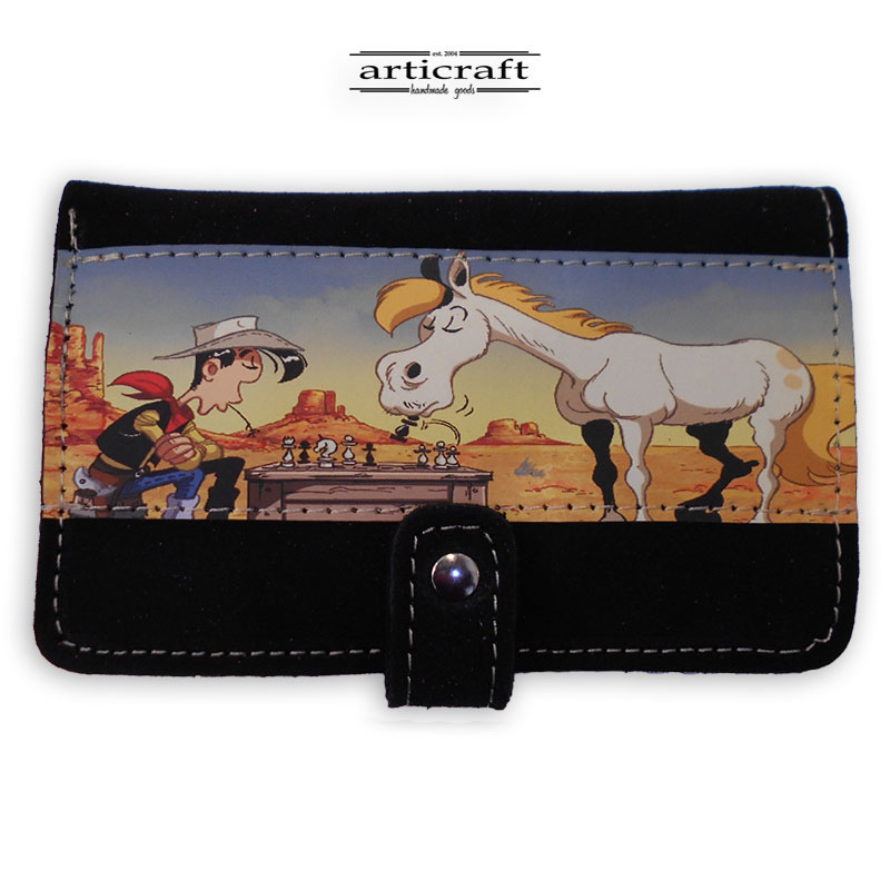 """Leather wallet """"Lucky Luck"""" (Α510)"""