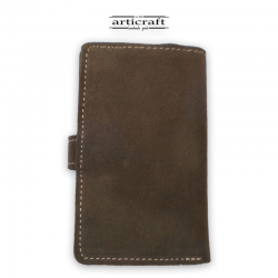 "Leather suede wallet """" (Α511)"