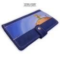 """Πορτοφόλι καστόρι μπλε """"Μικρός Πρίγκηπας"""" (Α515)"""