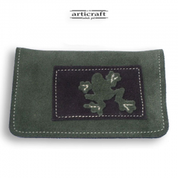 Leather tobacco pouch (Α407)