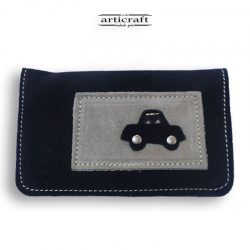 Leather tobacco pouch (Α405)