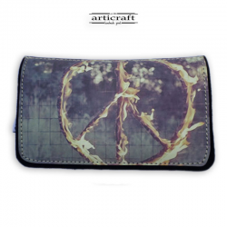 "Tobacco pouch ""Peace on fire"" (Α277)"