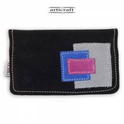 Suede tobacco pouch (Α328)