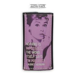"""Keyholder """"Audrey Hepburn"""" (Α529)"""