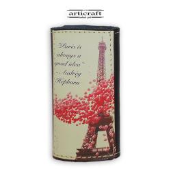 """Κλειδοθήκη δερμάτινη """"Paris"""" (Α558)"""