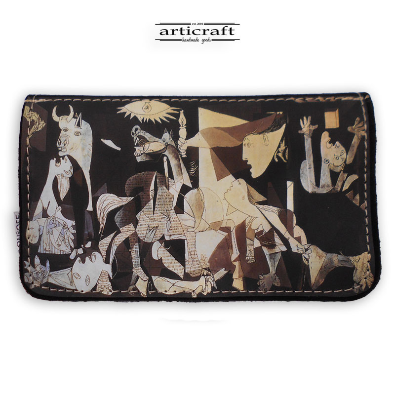 "Tobacco pouch ""Guernica - Picasso"" (Α562)"