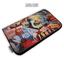 """Tobacco pouch """"Pop art"""" (Α566)"""