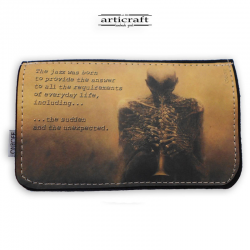 "Tobacco pouch ""Skeleton music"" (Α568)"