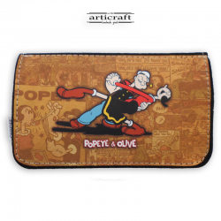 """Tobacco pouch """"Popeye and Olive"""" (Α570)"""