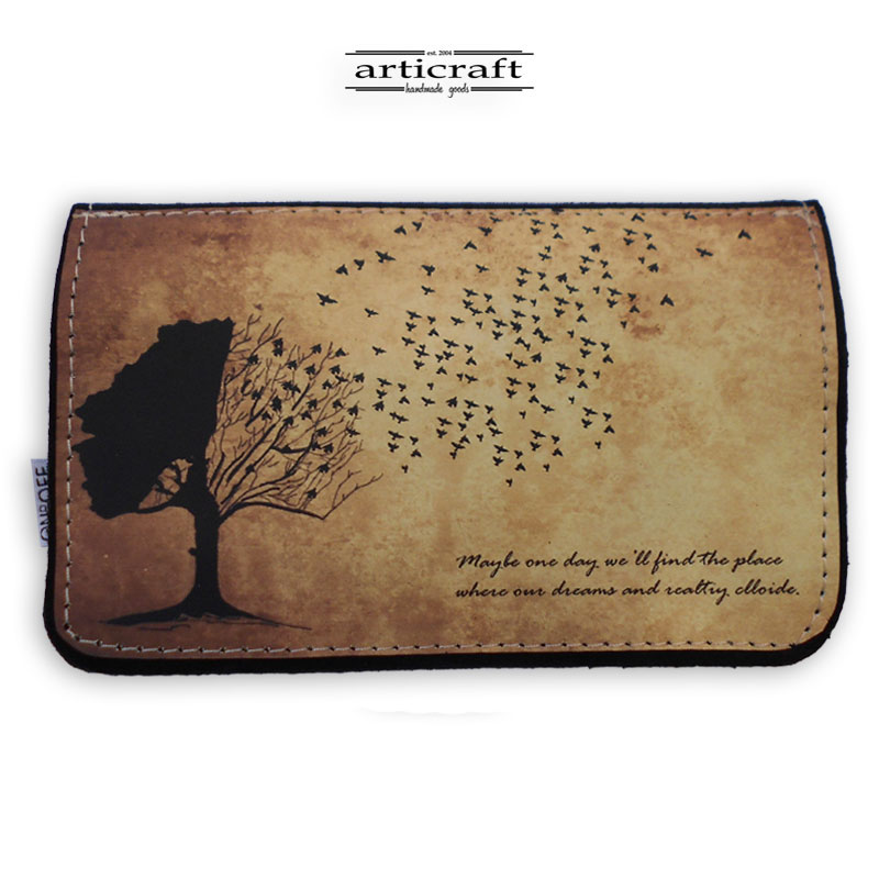 "Tobacco pouch ""Tree"" (Α573)"