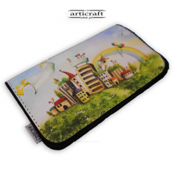 "Tobacco pouch ""Bright town"" (Α587)"