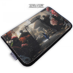 "Tobacco pouch ""Alice in wonderland"" (Α591)"