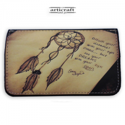 "Tobacco pouch ""Dreamcatcher"" (Α593)"