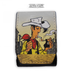 "Cigarette case ""Lucky Luke"" (A597)"